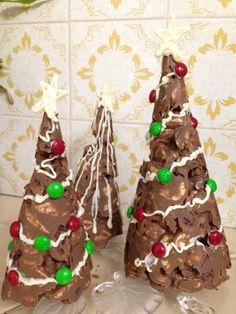 Rocky road Christmas Trees