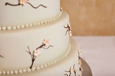 Wedding cakes are our specialty at Lunds and Byerly's. Check out a sampling of our cake creations to help get your creative juices flowing. Maybe you want the smooth fondant texture of our Cherry Blossom cake combined with the elegant piping from the Splendid Bouquet cake, or the molded flowers from the Cascading Orchids cake. These cakes are just spectacular!
