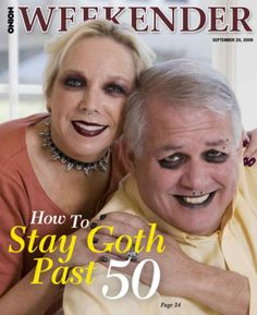 How to stay Goth past 50