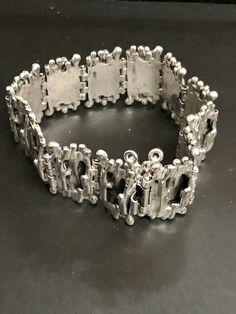 Silver Jewelry, Vintage Jewelry, Finland, Fashion Accessories, Jewelry Design, Diamond, Bracelets, Silver Jewellery, Vintage Jewellery