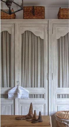 Image result for walk in closet french doors