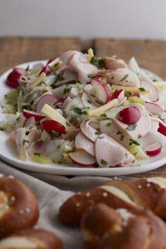 Gemüseexpedition im März – es gibt Wurstsalat mit Rettich | tastesheriff