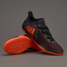 80d3b4d2002 adidas X Tango 17.3 IN - Core Black Solar Red Solar Orange. Futsal  ShoesFootball BootsAdidas ...