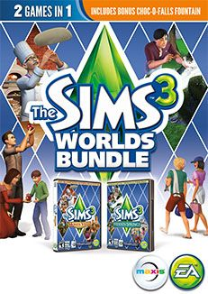 The Sims 3 Hidden Springs and Monte Vista together.  Includes the PC bonus content for $7.99
