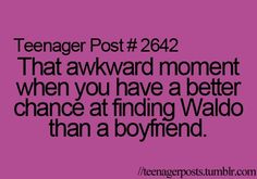 so true...forever alone