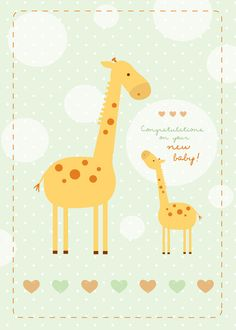 giraffe baby designed by nina seven on pingg.com