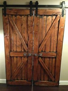 1000 images about barn doors on pinterest barn doors for Custom barn doors for sale