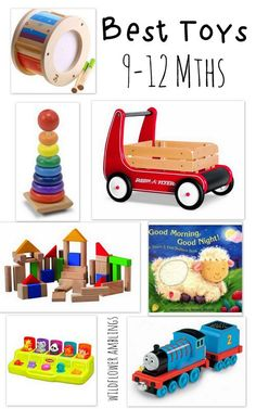 {This post contains affiliate links, please see mydisclosure policy.} I have presented my favorite toys for children3-6 months and 6-9 months and now humbly make my 9-12 month list. I can't believe my little boy will soon be one year old! He has been playing independently every day, both with and without me playing with...Read More »
