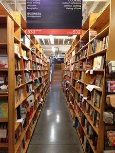 Powell's Bookstore Visit Portland, Bookcase, Shelves, Inspiration, Home Decor, Biblical Inspiration, Shelving, Decoration Home, Room Decor