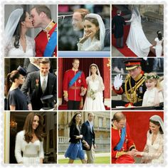 It is #royalweddingthursday #trowback Duchess Catherine and Prince William on their royalwedding day The Duchess in a beautiful weddingdress by Alexander McQueen and also the eveningdress by Alexander McQueen #royalweddingday #duchessCatherine #royalweddingdress #princeWilliam #AlexanderMcQueen #beautiful #royallady #gorgeous