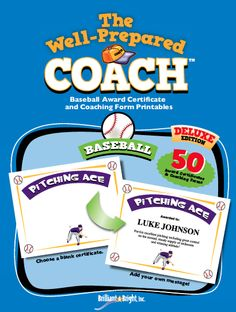 Baseball Award Certificate Templates - Youth Basketball Practice Plans