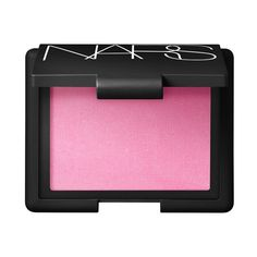 Gaiety Blush - NARS Cosmetics     A nice, bright pink for adding accents to a warmer background blush. I also use to brighten a top crease if I am working with a lot of color on the lid.