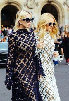 f05f55669bb3 Caroline Vreeland and Shea Marie in Stella McCartney by hattie Cool Street  Fashion