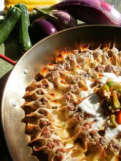 PFB Manti: The Ottoman Empire's precious dumpling Manti This comforting little meat filled dumpling is the beating heart of Turkish cuisine. Also known as Boerek of the Tartars or Tatar Boregi, it found it's way to t… Armenian Recipes, Lebanese Recipes, Turkish Recipes, Greek Recipes, Ethnic Recipes, Armenian Food, Armenian Manti Recipe, Comida Armenia, Turkish Kitchen