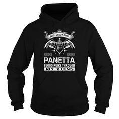 PANETTA Blood Runs Through My Veins (Faith, Loyalty, Honor) - PANETTA Last Name, Surname T-Shirt