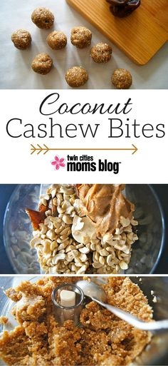 Breakfast on the Go: Coconut Cashew Bites | Twin Cities Moms Blog