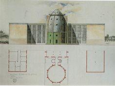 Aldo Rossi | Museo Bonnefanten | Maastricht, Holanda | 1990-1994