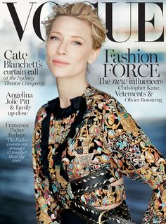 Cate Blanchett for Vogue Australia December 2015