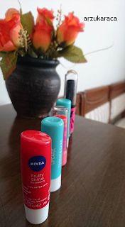 Gökyüzü'nün Elleri : Kozmetik Ürün // Dudak Kremi - NIVEA
