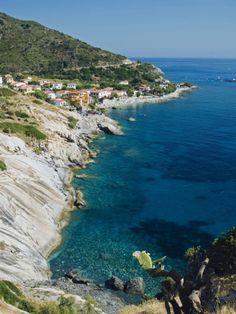 Pomonte, Isola D'Elba, Livorno, Tuscany, Italy