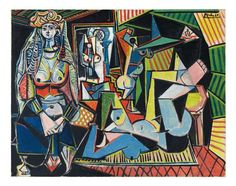 Picasso. Women of Algiers. estimated auction price May11: 140M