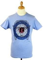 Chambers MERC Retro Mod Target Camper Van T-Shirt