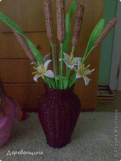 Tutorial flores de jarrón
