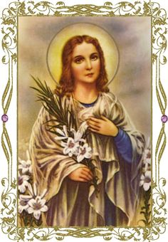Saint Maria Goretti, Virgin & Martyr (July 6th) S. Maríæ Goretti Virg. et Mart....