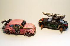 Four Colour Super Minis: Battle Cars. Car Wars