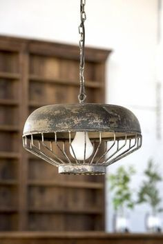 Awesome Pendant Light being sold by our friend Jessica at JG Rural Living!