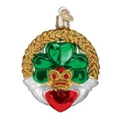 Find a Claddagh Ornament or shop our entire collection of Old World Christmas ornaments for more selection . Our beautifully crafted ornaments make a great keepsake . Shop our large collection of high quality Christmas ornaments for all occasions Irish Christmas, Old World Christmas Ornaments, Christmas Gift Box, Christmas Things, Merry Christmas, Ornament Hooks, Glass Ornaments, Beaded Ornaments, Holiday Store