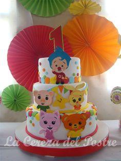 La Plata Happy Birthday Sam, Mickey Birthday, Circus Birthday, Circus Party, 2nd Birthday Parties, Baby Birthday, Birthday Cake, Celebrate Good Times, Disney Cakes