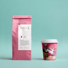 Dolce branding and packaging design by Metaklinika. Dolce is a cake shop and bakery located at the heart of Vračar, a Belgrade neighbourhood.
