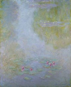 Water Lilies XIX Claude Monet Impressionism Flowers art for sale at Toperfect gallery. Buy the Water Lilies XIX Claude Monet Impressionism Flowers oil painting in Factory Price. Claude Monet, Monet Paintings, Impressionist Paintings, Artist Monet, Art Sur Toile, Lily Painting, Monet Water Lilies, Pierre Auguste Renoir, Oil Painting Reproductions