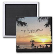 #My happy place Mexico Magnet - #beach #travel #beachlife