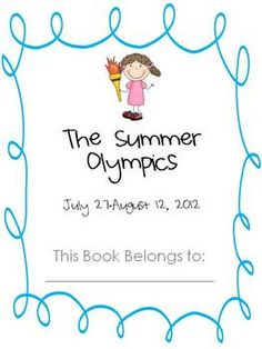 Olympic Games Book
