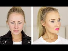 Full Face of FIRST IMPRESSIONS + clothes! // Lauren Curtis - YouTube