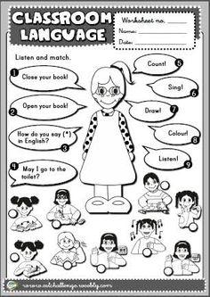 classroom language - Buscar con Google