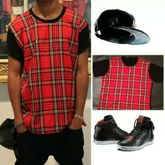 Shop the #Trillect Tartan tee now www.houseoftreli.com