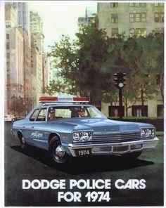 1974 police car