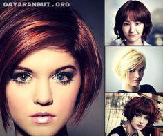 7 model bob pendek wanita 2016