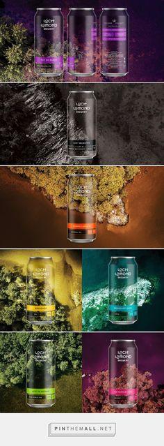 Loch Lomond Brewery - Craft Range packaging design by Thirst - https://www.packagingoftheworld.com/2018/04/loch-lomond-brewery-craft-range.html