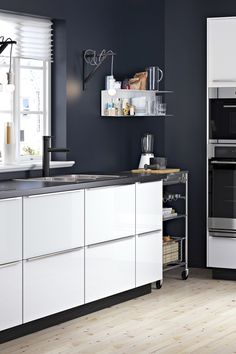 Check out the IKEA Kitchen Brochure to learn how to turn your dream kitchen into a reality! IKEA SEKTION kitchens are designed to give you the freedom to create the kitchen that's just right for you. Everything from the cabinets to the fronts and handles has been developed to give you as many options as possible. Start exploring!