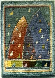 Rya design by Sirkka Könönen. Rya Rug, Wool Rug, Weaving Textiles, Tapestry Weaving, Textile Patterns, Textile Art, Tapestry Design, Patterned Carpet, Rug Hooking