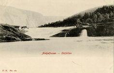 Sørfold i Nordland fylke Ankjelfossen utg Narvesen