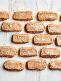 Polvorones are Mexico's crispy, airy answer to shortbread (you may know them as Mexican wedding cookies). Chip Cookies, Sugar Cookies, Cookies Et Biscuits, Owl Cookies, Cinnamon Cookies, Sweet Potatoe Bites, Potato Bites, Chocolate Chunk Cookies, Chocolate Hazelnut