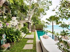 Garden, pool and ocean goals!