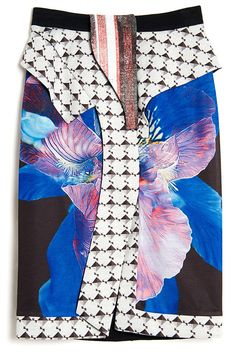 Givenchy-Patchwork Skirt