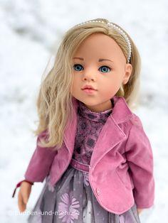 Sophia von Götz: Top oder Flop? - puppen und mehr Gotz Dolls, Knit Shoes, 18 Inch Doll, Doll Accessories, Knit Dress, American Girl, Doll Clothes, Goth, Outfits