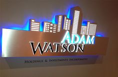 Electronic Signs, Illuminated Signs, Plastic Letters, Workplace, Light Up, Signage, Investing, Led, Lettering
